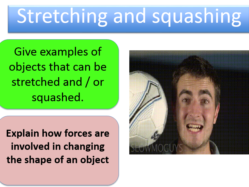 Hooke's Law Practical (Stretch and Squash)