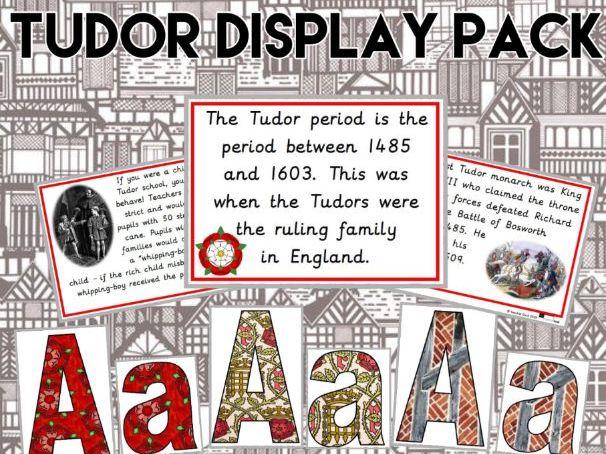 Tudor Display Pack