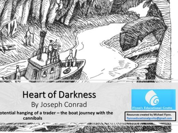 A Level: (6) Heart of Darkness Part 2, 1 of 3 The  hanging of a trader – the cannibal crew