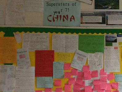 SEN friendly carousel featuring 4 different habitats of  CHINA. Fully DIFFERENTIATED.