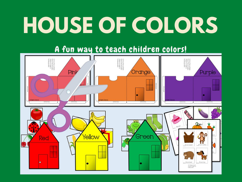 House of Colors - Learn Colors