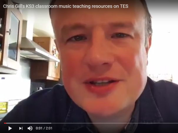 Chris Gill's KS3 classroom music teaching resources on TES
