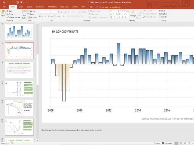 13. Economic Growth (Slides, Activities and Notes) - Edexcel A-Level Economics - Theme 2