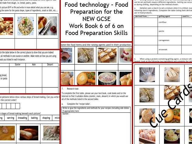 New gcse food technology 6 aqaedexcel food prep skills 8 page cover image forumfinder Images