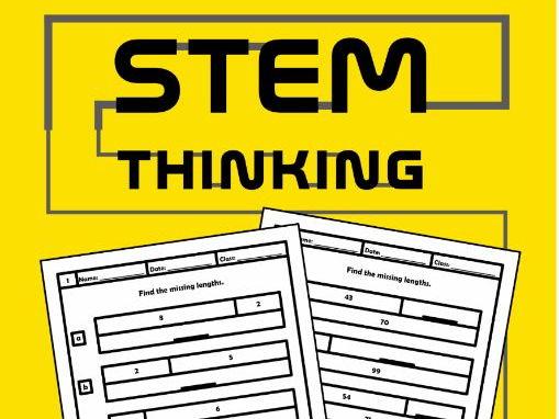 Find the Missing Lengths Pre Algebra Maths Worksheets