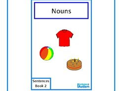 Finish The Sentences Interactive Book- Nouns,  Autism, Special Education, SEND