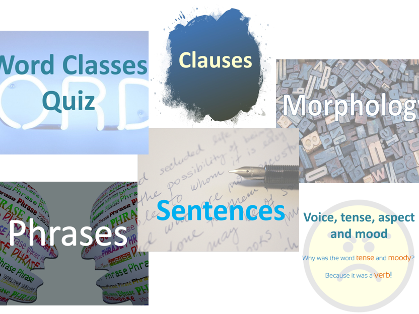 Grammar introduction PowerPoint pack (6 resources)