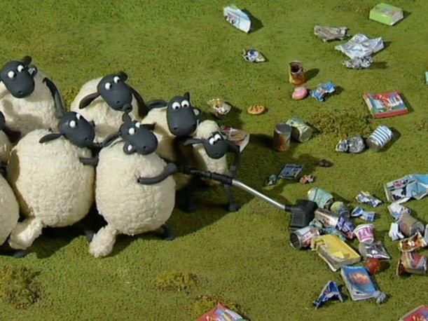 Shaun the Sheep - Tidy up Shaun IN FRENCH
