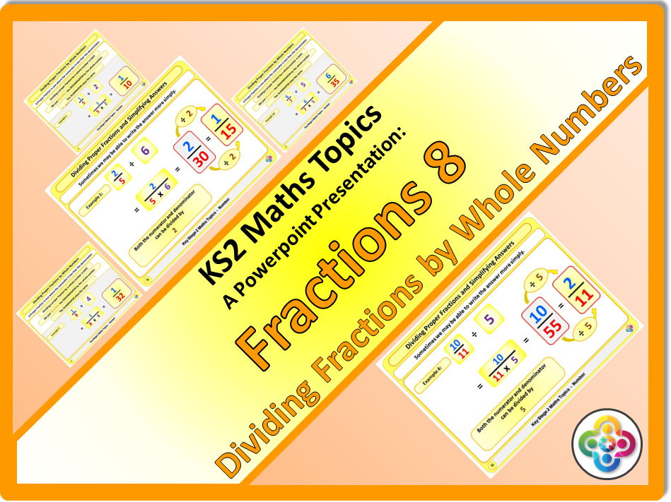 Fractions 8: Dividing Fractions by Whole Numbers KS2