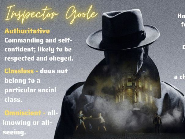 An Inspector Calls Adjectives