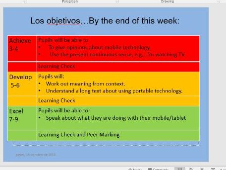 AQA GCSE Spa 2016 La tecnologia portatil - Social Media topic - 2 lessons