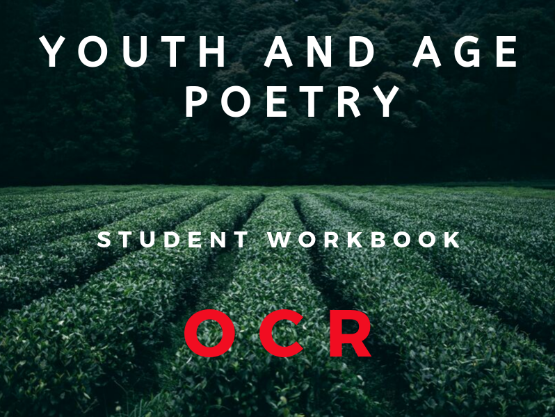 OCR Youth and Age  Poetry