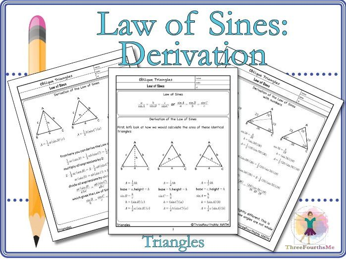 Law of Sines: Derivation