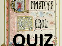 A Christmas Carol Quiz (Charles Dickins) with Specific Answer Sheet