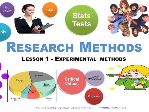 PowerPoint - Research Methods - Week 1 The Experimental Methods