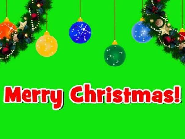 Green Screen Christmas Card iPad Activity