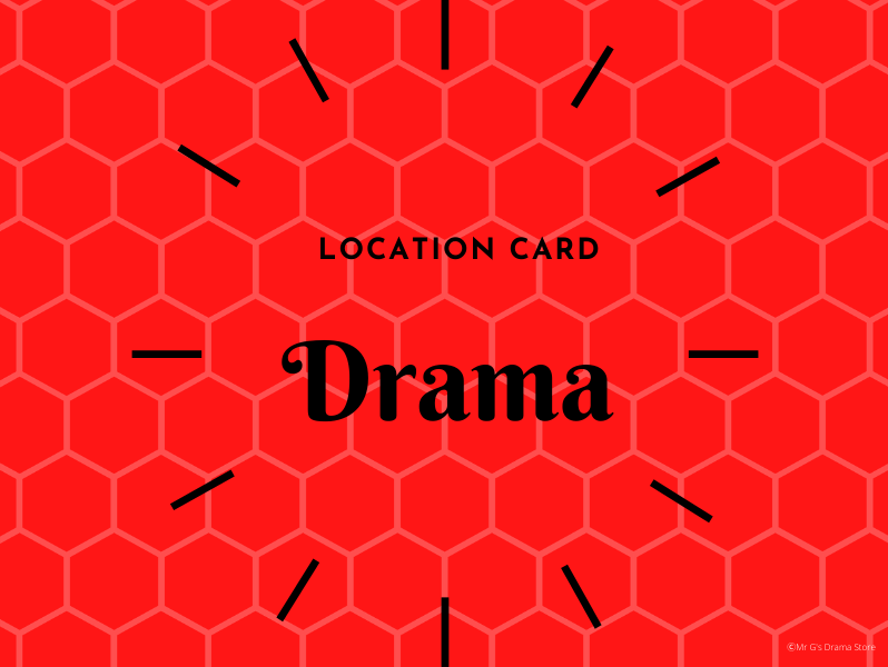 Drama Location Cards