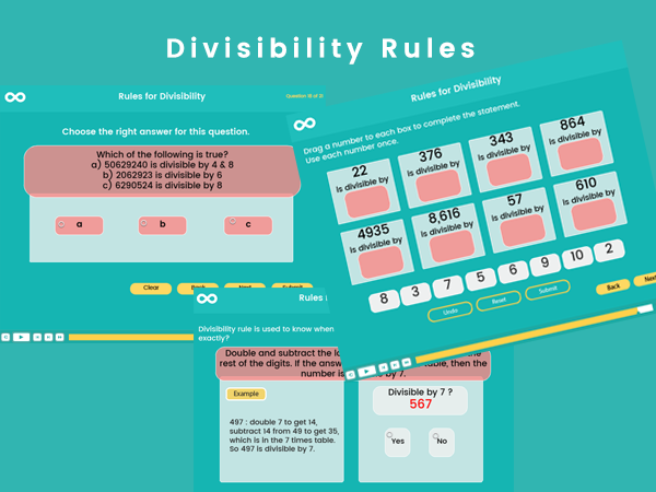 Divisibility Rules - Key stage 2 (US third and fourth grade)