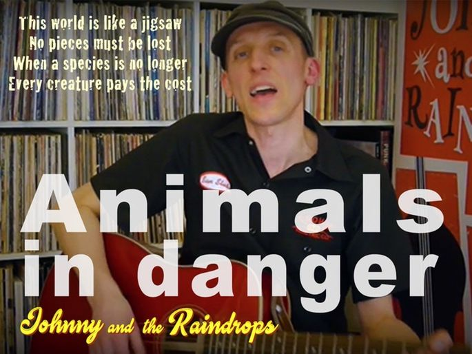 Endangered animals song | 'Animals in Danger'