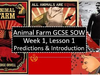 48 Lesson Animal Farm AQA GCSE Scheme of Work - Fully Resourced