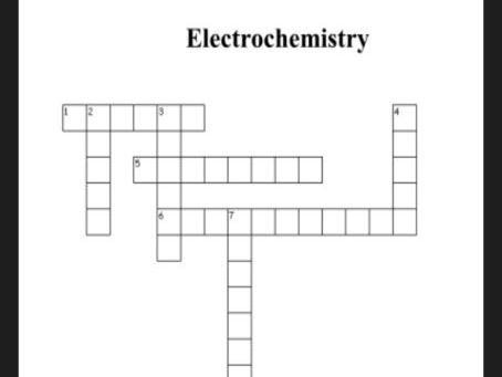 Electrolysis Plenary Activity