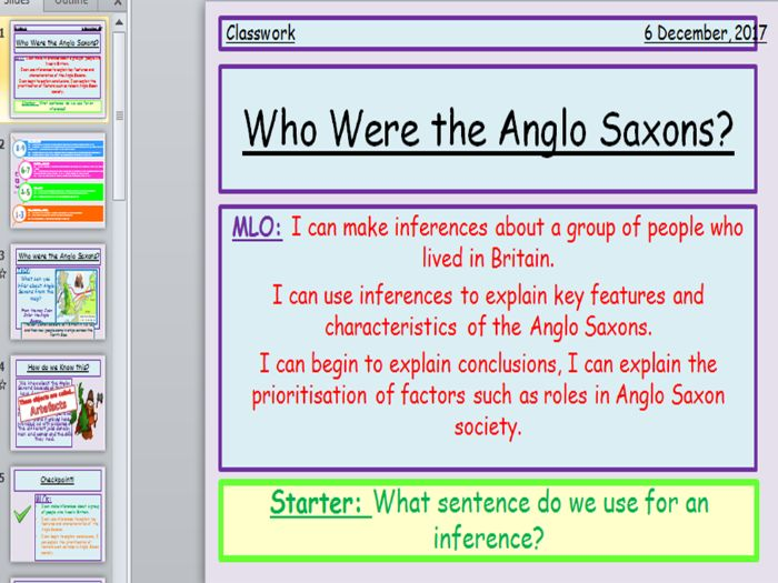 Anglo Saxons Who Were They