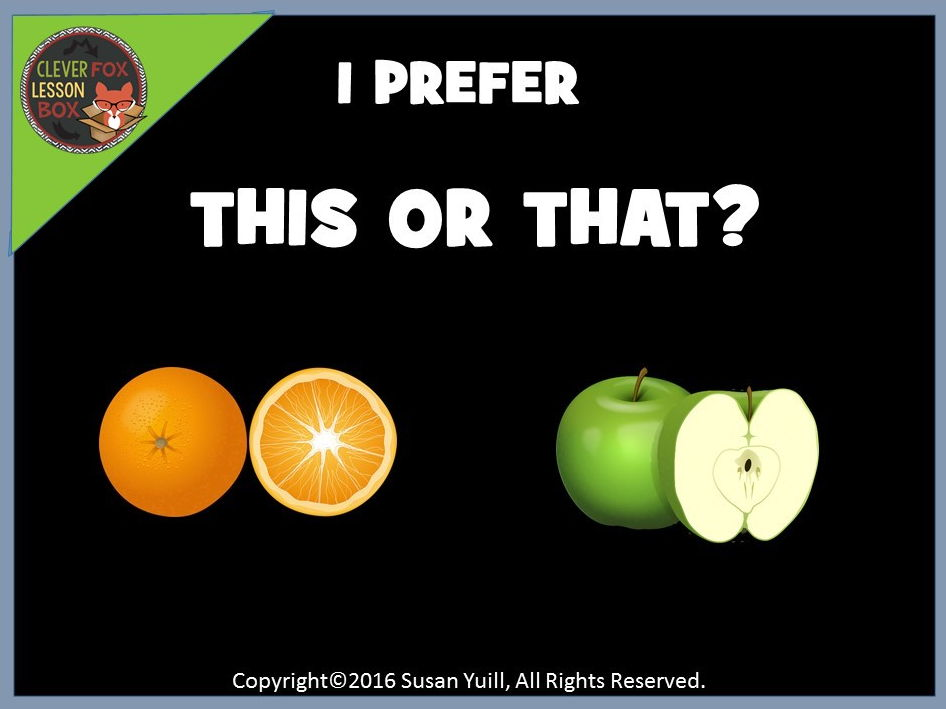 Ice Breaker - PowerPoint Game - This or That