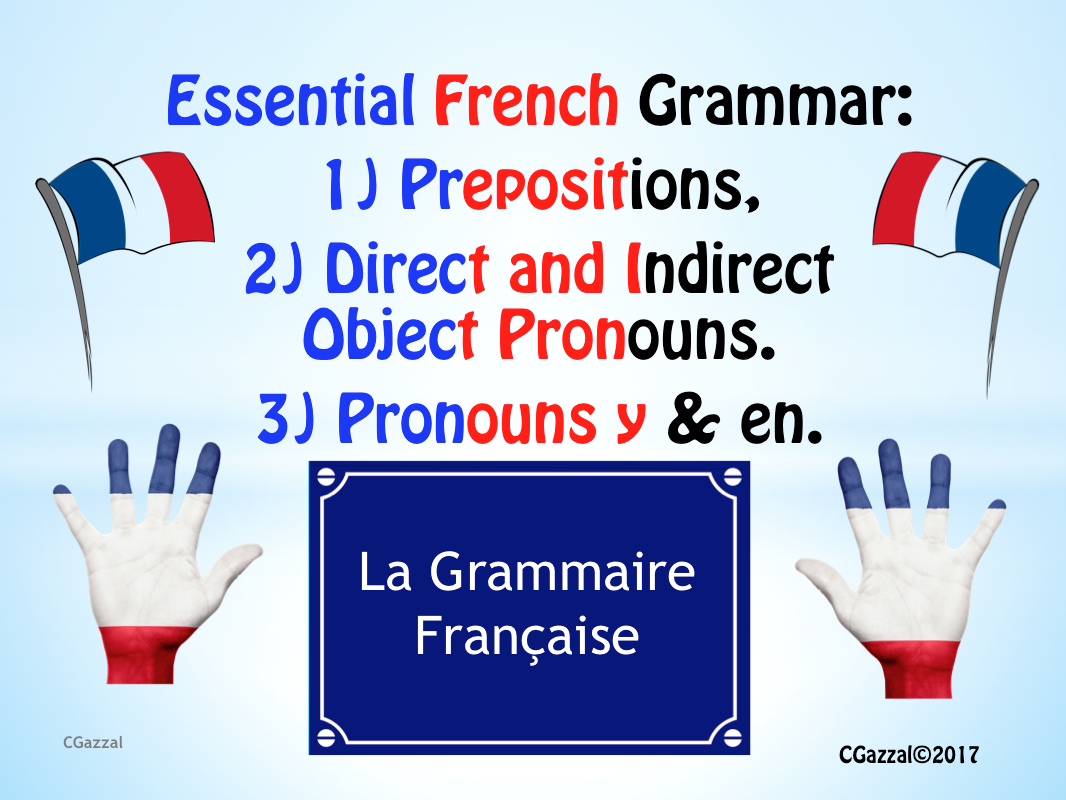 Essential French Grammar - Pack 2.