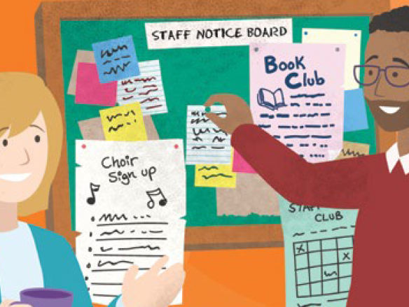 Supporting staff wellbeing in schools