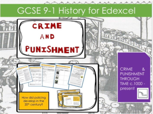 Edexcel GCSE 9-1 Crime & Punishment: Lesson 26 How did policing change in the 20th century?