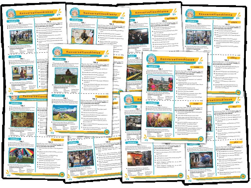 10 x German Speaking Bundle (Pack 7)