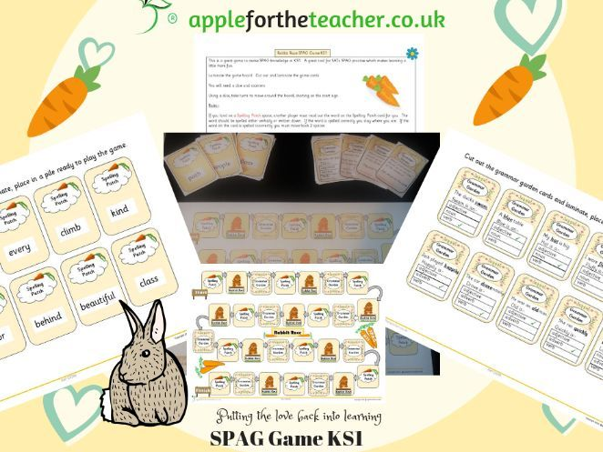 SPAG activities KS1 Year 2 literacy