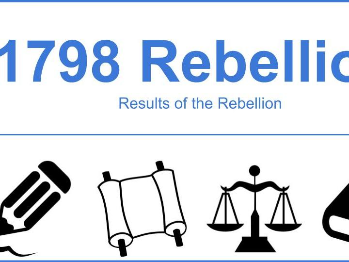 Results of the 1798 Rebellion