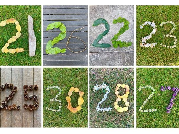 Natural Numbers 21-30 EYFS KS1 maths display