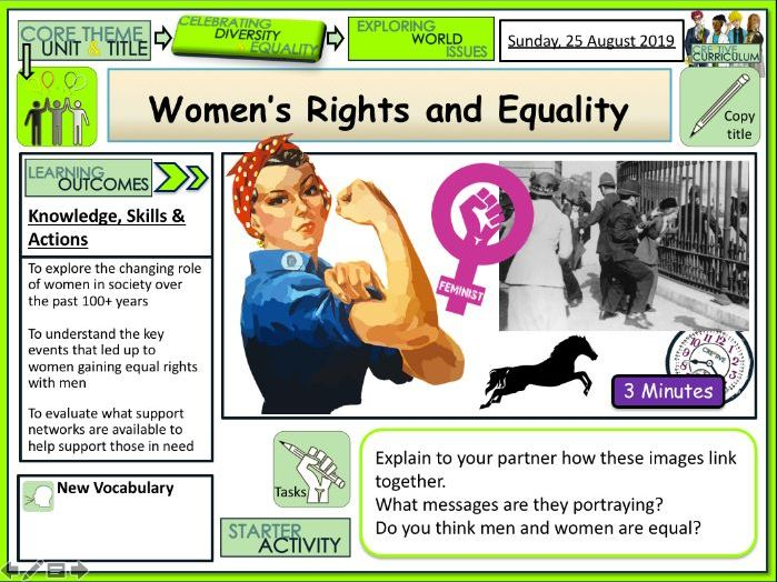 Women's Rights and Equality