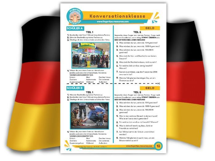 Geld - German Speaking Activity