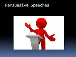 Persuasive Speeches- Speaking and Listening- Persuasive Writing