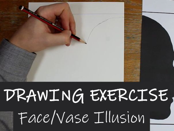 Drawing Exercise 1 - Face/Vase Illusion Video