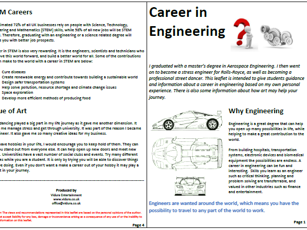 STEM and STEAM Careers Assemblies