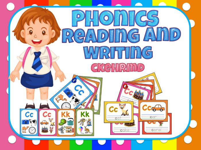 Jolly Phonics- Reading and writing for centers - ckehrmd