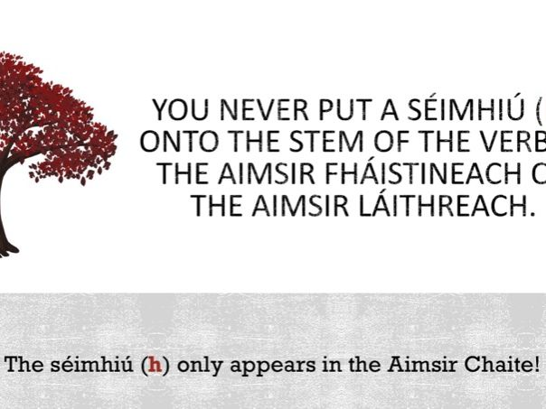 An Aimsir Fháistineach PowerPoint