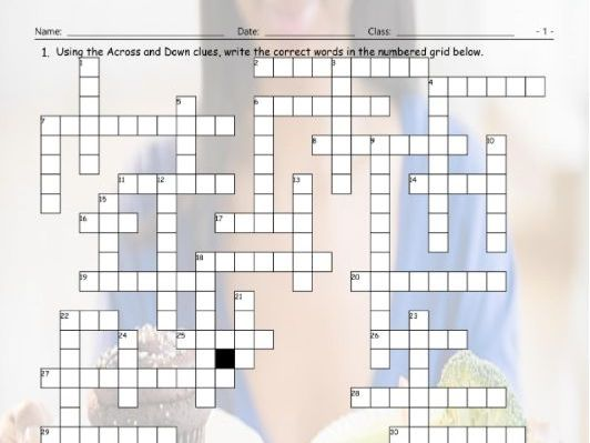Possibility Modals Interactive Crossword Puzzle for Google Apps
