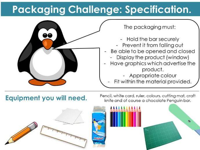 Penguin Packaging Lesson
