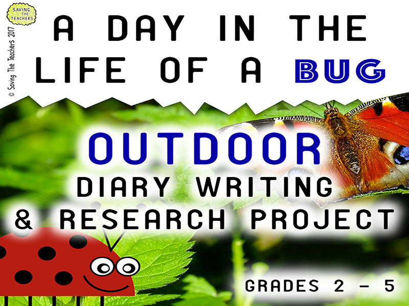 Outdoor Diary Writing / Recount Activity