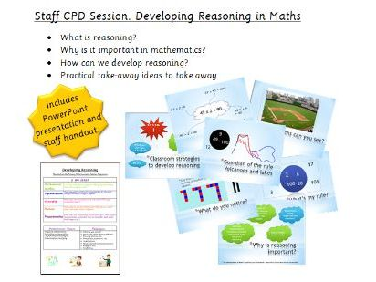 Maths Staff CPD - Developing Reasoning in Maths
