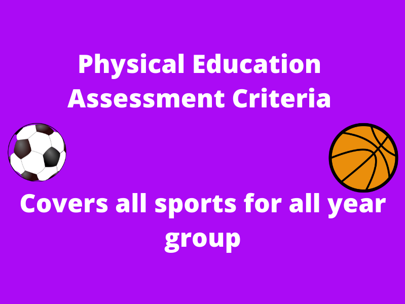 Primary Physical Education Assessment Criteria (All Years)