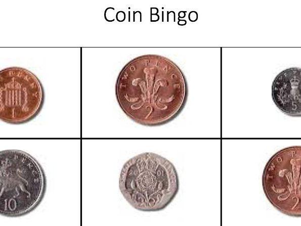 money, coins bingo