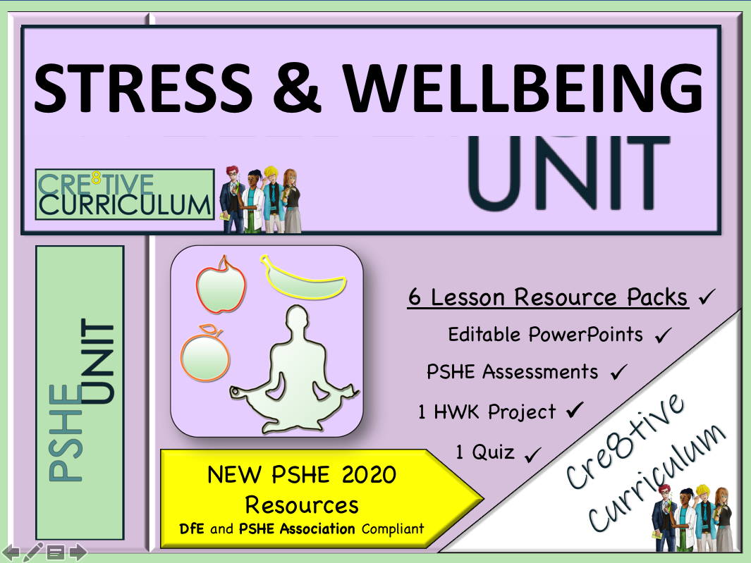 Healthy Lifestyle +Stress + Wellbeing UNIT