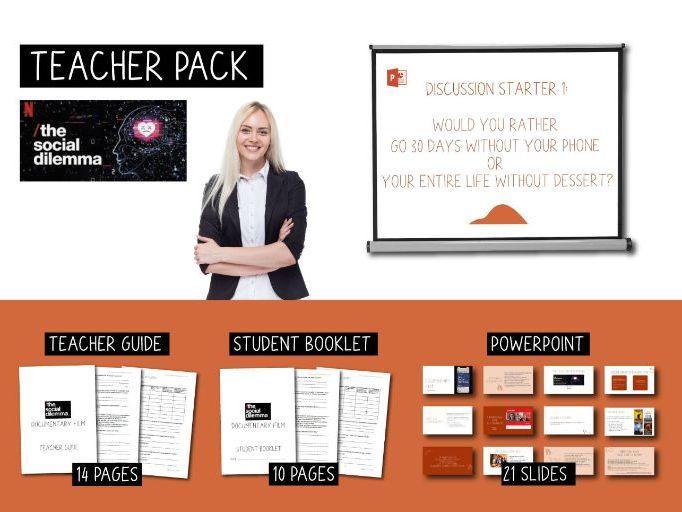 Teacher Pack - The Social Dilemma