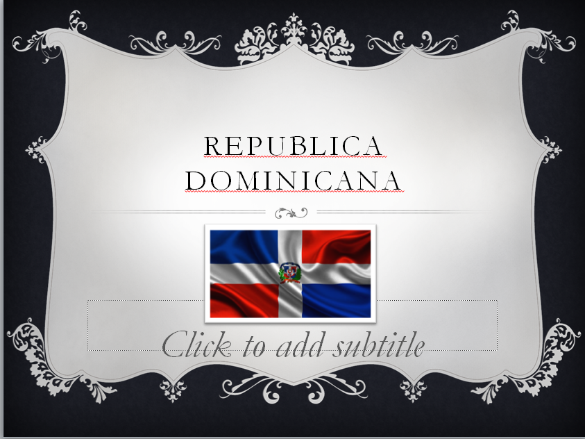 Dominican Republic mini presentation